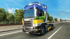Gasunie Transport skin für den Scania truck