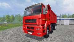 Le KamAZ-65802 8x4 v2.0