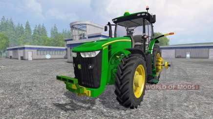 John Deere 8370R [Degelman silage blade] für Farming Simulator 2015