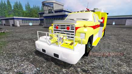 Ford F-800 [fire truck] pour Farming Simulator 2015