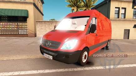 Mercedes-Benz Sprinter LWB für American Truck Simulator