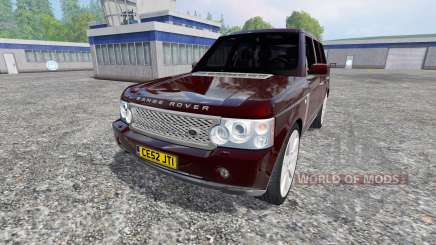 Range Rover Supercharged 4WD für Farming Simulator 2015
