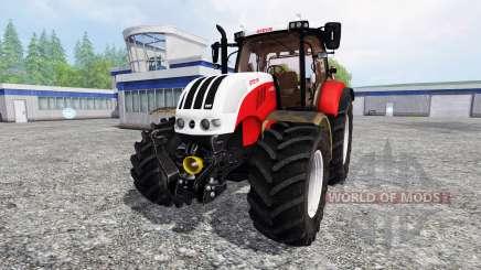 Steyr CVT 6230 v3.1 pour Farming Simulator 2015