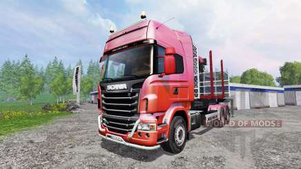 Scania R730 [forest] v1.2 für Farming Simulator 2015