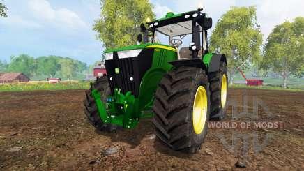 John Deere 7310R v3.5 pour Farming Simulator 2015