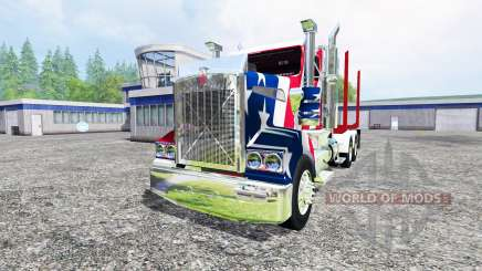 Kenworth T908 [USA] pour Farming Simulator 2015
