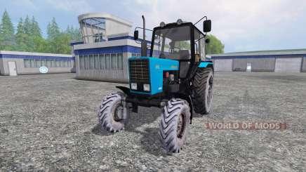 MTZ-82.1 v2 Biélorusse.1 pour Farming Simulator 2015