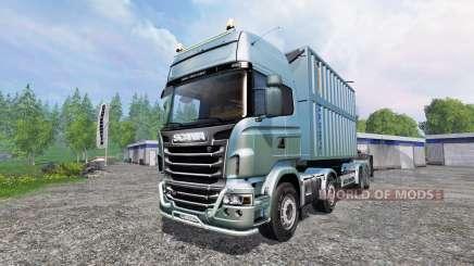 Scania R730 [bruks] v1.1.1 pour Farming Simulator 2015