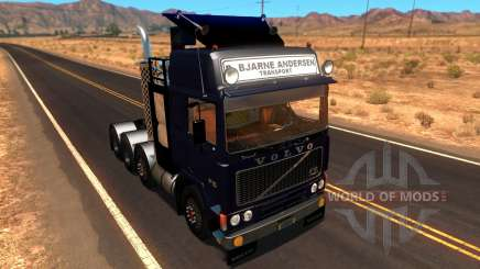 Volvo F10 Heavy Transporter Truck für American Truck Simulator