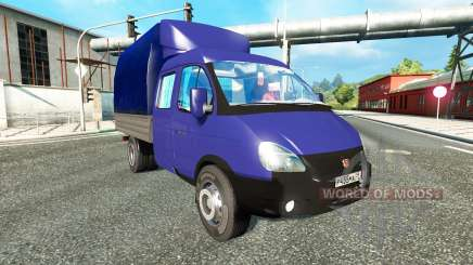 GAZ-3302 pour Euro Truck Simulator 2
