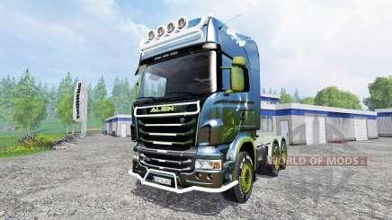 Scania R730 [alien] v2.1 für Farming Simulator 2015