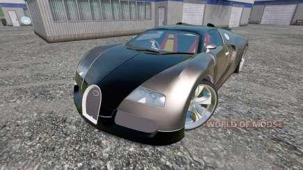 Bugatti Veyron v2.0 für Farming Simulator 2015