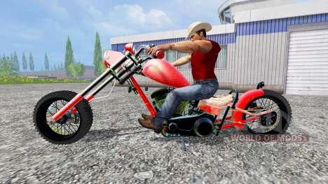 Harley-Davidson für Farming Simulator 2015