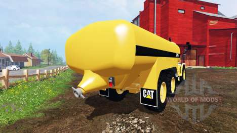 Caterpillar 725A [liquid manure] v2.0 pour Farming Simulator 2015