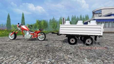 Harley-Davidson [final] pour Farming Simulator 2015