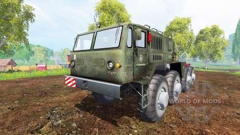 MAZ-537 v1.1 für Farming Simulator 2015