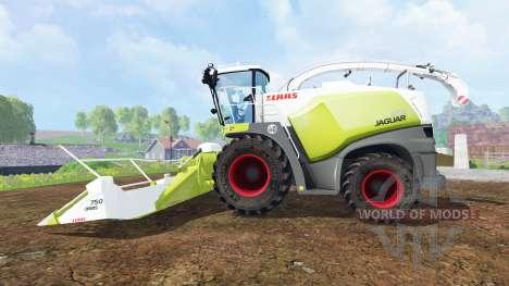CLAAS Jaguar 870 v3.0 pour Farming Simulator 2015