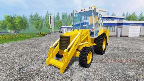 JCB 3CX 4WD v2.0 pour Farming Simulator 2015