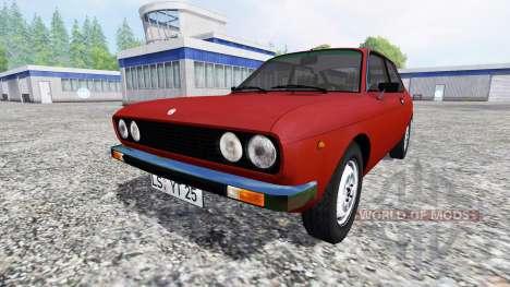 Fiat 128 3P Berlinetta 1978 pour Farming Simulator 2015
