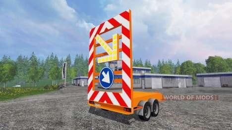 Das signal trailer cover für Farming Simulator 2015