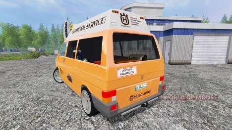 Volkswagen Transporter T4 Husqvarna Service für Farming Simulator 2015