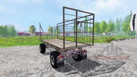 Fortschritt HW 80 Ball Grid Cart für Farming Simulator 2015