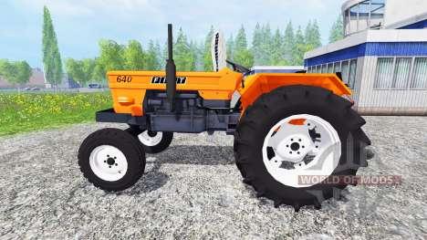 Fiat 640 v2.0 pour Farming Simulator 2015