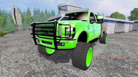 Ford F-350 [lifted] pour Farming Simulator 2015
