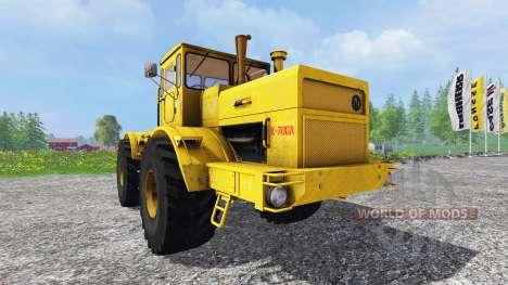 K-700A kirovec 4x4 pour Farming Simulator 2015