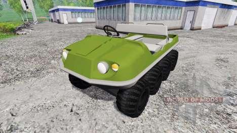 Argo 8x8 pour Farming Simulator 2015
