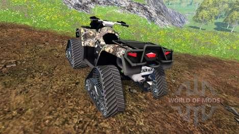 Can-Am Outlander 1000 XT [quadtrac camo] pour Farming Simulator 2015
