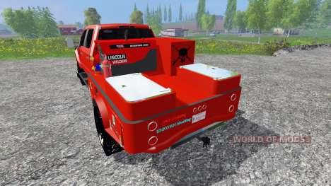 Ford F-450 2017 [welding rig] pour Farming Simulator 2015