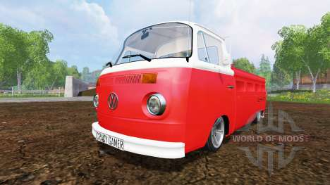 Volkswagen Transporter T2B 1972 [lowered] pour Farming Simulator 2015