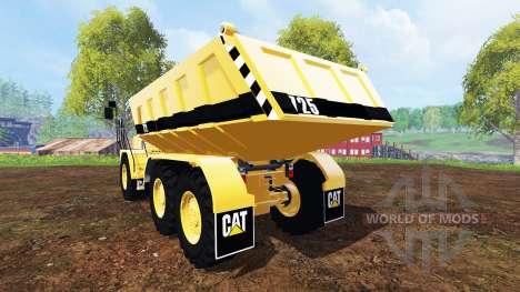 Caterpillar 725A [dump] pour Farming Simulator 2015