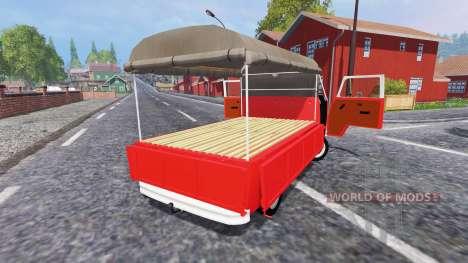 Volkswagen Transporter T2B 1972 [Bully] pour Farming Simulator 2015