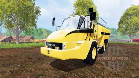 Caterpillar 725A [liquid manure] für Farming Simulator 2015