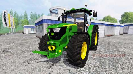 John Deere 6170R [fixed] pour Farming Simulator 2015