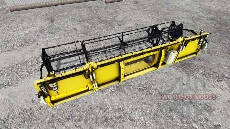 Geringhoff HS660 TL [folding cutterbar] v2.0 pour Farming Simulator 2015