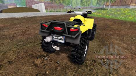 Can-Am Outlander 1000 XT Kompressor pour Farming Simulator 2015