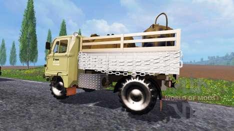 Robur LD 3000 dans le trafic pour Farming Simulator 2015