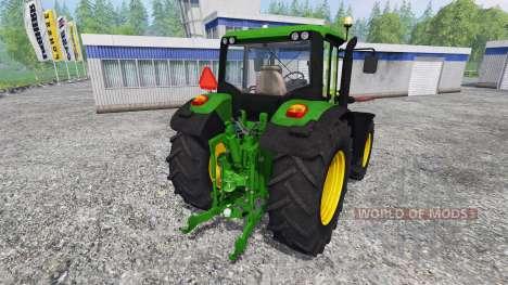 John Deere 6115M [washable] pour Farming Simulator 2015
