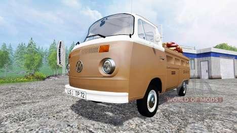 Volkswagen Transporter T2B 1972 Service für Farming Simulator 2015