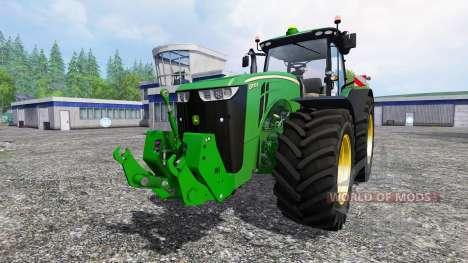 John Deere 8370R pour Farming Simulator 2015