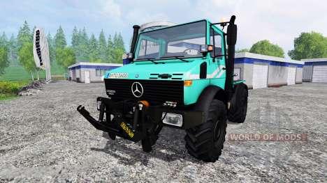 Mercedes-Benz Unimog U1600 pour Farming Simulator 2015