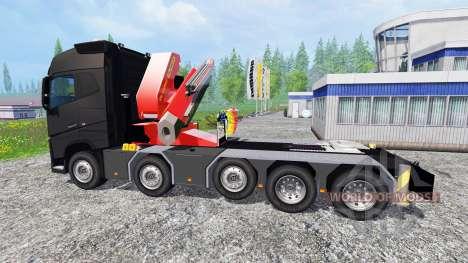 Volvo FH16 750 10X4 pour Farming Simulator 2015