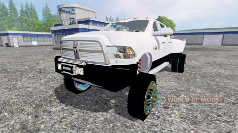 Dodge Ram 3500 2015 [custom] pour Farming Simulator 2015