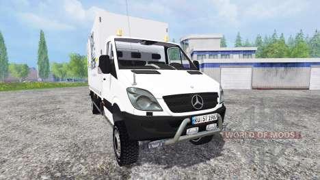 Mercedes-Benz Sprinter v0.5 pour Farming Simulator 2015
