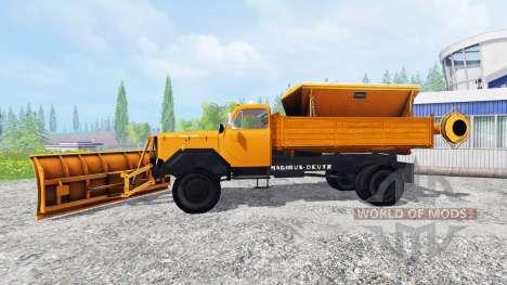 Magirus-Deutz 200D26 1964 [snow plow] pour Farming Simulator 2015