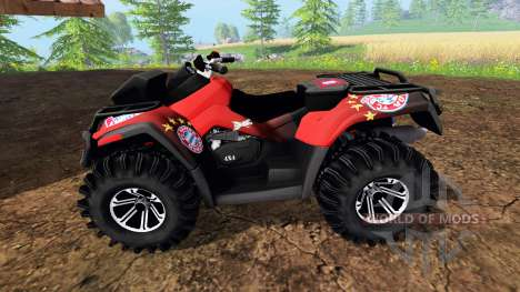 Can-Am Outlander 1000 XT [FCB] pour Farming Simulator 2015