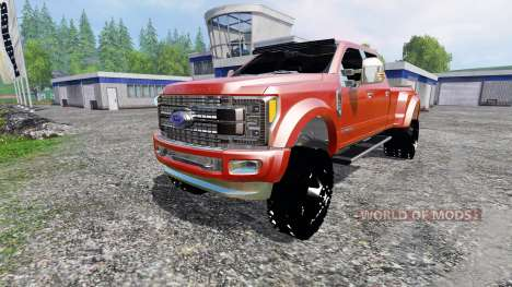 Ford F-450 2017 [platinum] v2.0 pour Farming Simulator 2015
